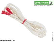 Bílé lano na houpačky