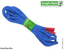 Modré lano na houpačky