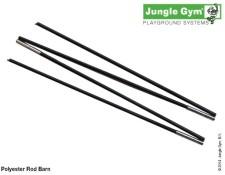 Stanové tyčky pro herní sestavu Barn od Jungle Gym