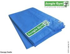 Nepromokavá plachta pro herní sestavu Castle od Jungle Gym