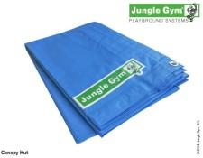 Nepromokavá plachta pro dětské hřiště Hut od Jungle Gym