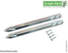 Zemní kolíky pro dětská hřiště Jungle Gym;